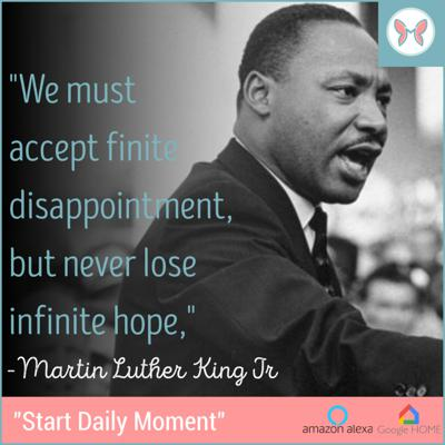 Cover art for 🦋🌟Today's Daily Moment 🌟Featuring Martin Luther King 🌟🦋