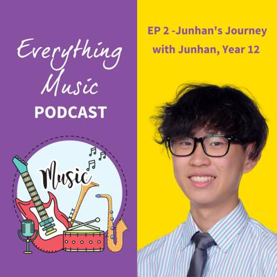 Cover art for Everything Music Podcast - Ep 2 Junhan's Journey