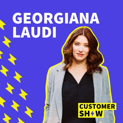 Cover art for The Rise of Customer-Led Growth with Georgiana Laudi