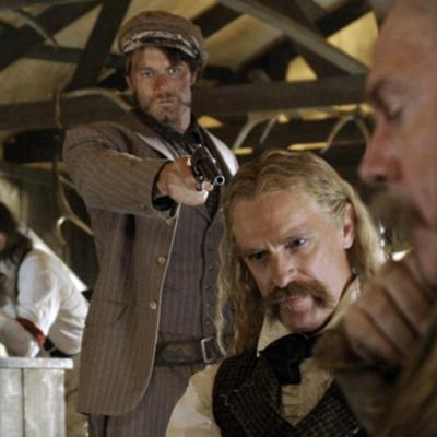"""Cover art for Deadwood S01E04 : """"Here Was A Man"""""""
