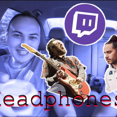 Cover art for Headphones On #1: Twitch Is The Future, Guitar GOAT, Are Ghosts Real? (feat. Memento)