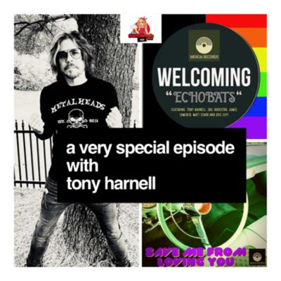 """Cover art for The Episode with Tony Harnell - It's Release Day for """"Save Me From Loving You"""" by Echobats"""