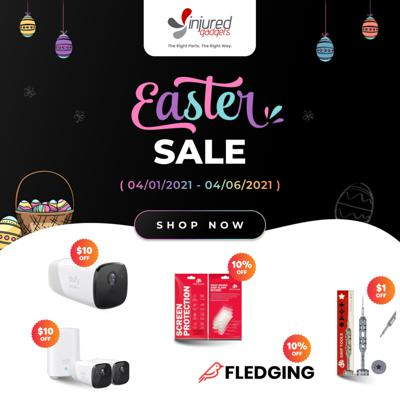 Cover art for Make your Easter Better with Injured Gadgets - Sale Launch