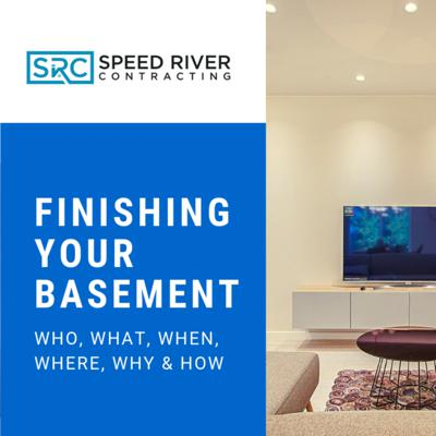 Cover art for Finishing your basement: The who, what, when, where, why AND how.