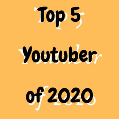 Cover art for top 5 YouTube of 2020 with earning