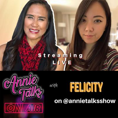 Cover art for Episode 95 - Annie Talks with @Felicity | Twitch partner, gamer, and creator of Dare to Duet