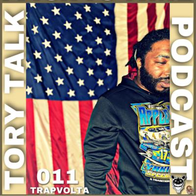 """Cover art for Tory Talk 011- Trapvolta """"Too NFT For Tv"""""""