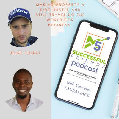Cover art for Episode 29 | Making property a side hustle and still traveling the world for business.