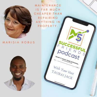 Cover art for Episode 35 | Maintenance is far much cheaper than repairing anything in property - Marisia Robus