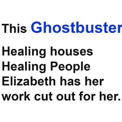 Cover art for A real live GHOSTBUSTER discusses clearing homes and embracing the power of intention.