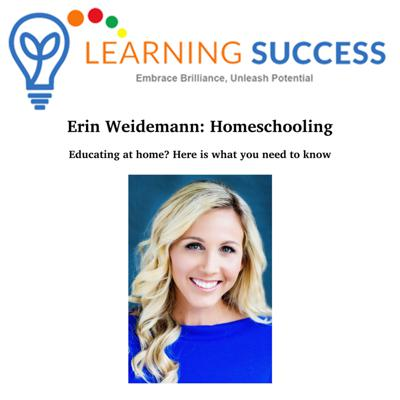 Cover art for Educating at Home? What You Need to Know - Interview with Erin Weidemann