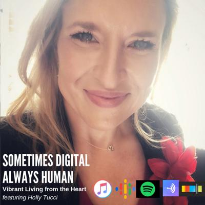 Cover art for Episode 16: Vibrant Living from the Heart featuring Holly Tucci