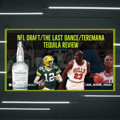 Cover art for NFL Draft 2020/Teremana Tequila Review/Better Call Saul Finale/Top 3 Arnold Movies