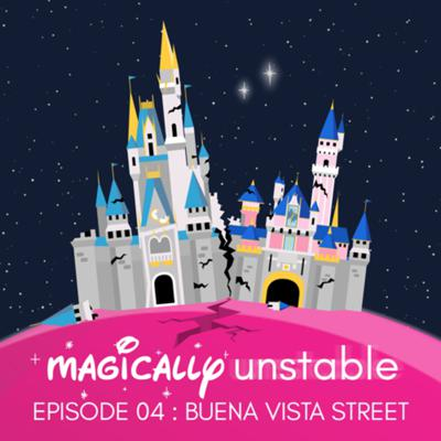Cover art for Episode 4: Buena Vista Street, Walt Disney World's 50th Anniversary and the Carnotaurus of Nicole's Nightmares