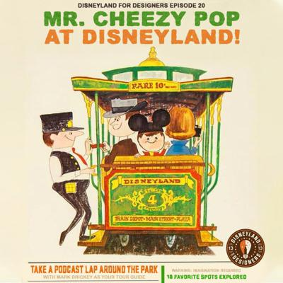 Cover art for Mr Cheezy Pop Goes To Disneyland