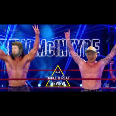 Cover art for Eye for an Eye match | Keith Lee Wins | New U.S. Title design!