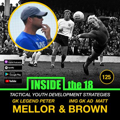 Cover art for EPISODE 125- Tactical Youth Development Strategies w/ GK Coaching Legend Peter Mellor & IMG AD GK Matt Brown!!!