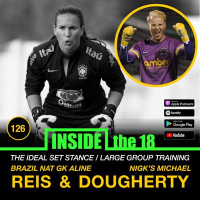 Cover art for Episode 126- Finding Your Perfect Set Stance w/ Brazil Nat Team GK Aline Reis & How to Coach Large Groups w/ Northern Ireland's Michael Dougherty !
