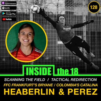 Cover art for Episode 128 - Scanning the Field w/ FFC Frankfurt's GK Bryane Heaberlin & Tactical Redirection w/ Colombia WNT GK Catalina Perez