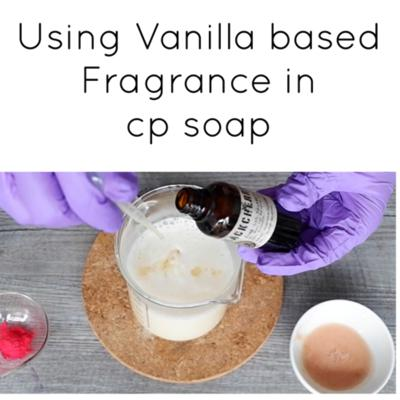 Cover art for Using Vanilla Based Fragrances in Cold Process Soap.
