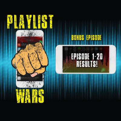 Cover art for Playlist Wars: Episode 1-20 Results