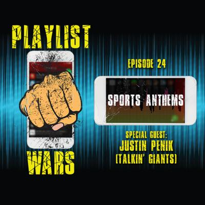 Cover art for Playlist Wars: Sports / Stadium Anthems
