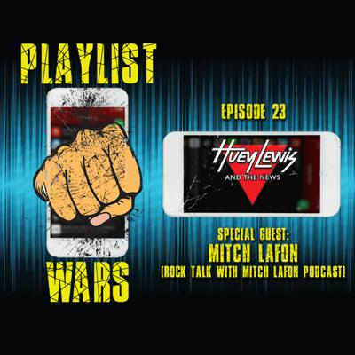 Cover art for Playlist Wars: Huey Lewis & The News