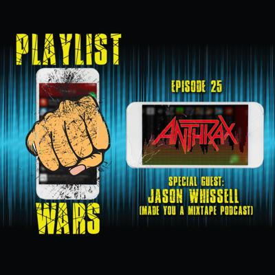 Cover art for Playlist Wars: Anthrax