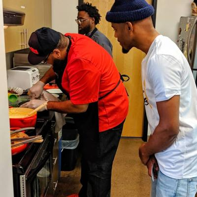 Cover art for Eating like your favorite Blazer player w/ Chef Kenny and Chef B