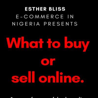 Cover art for What to buy or sell Online