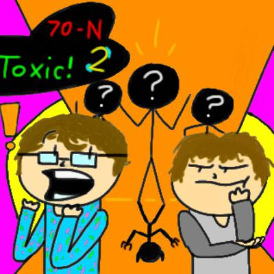 Cover art for 70-Night Podcast Ep. 2 (Analogy of the Toxic)