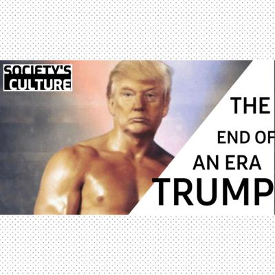 Cover art for Trump...the end of an era