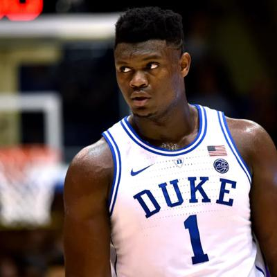 Cover art for Zion is the best college basketball player of all time