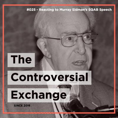 Cover art for Reacting to Murray Sidman's SQAB Speech   TCE #025