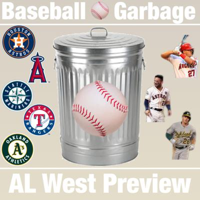 Cover art for 2019 AL West Division Preview
