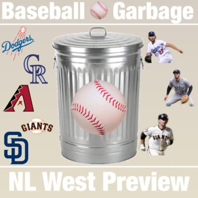 Cover art for 2019 NL West Preview