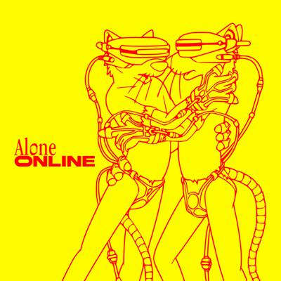 Cover art for chris††† - alone online
