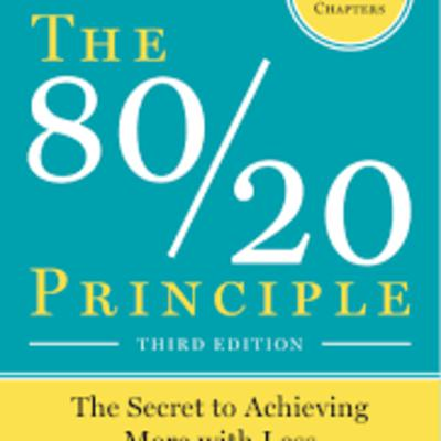Cover art for The 80/20 Principle