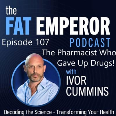 Cover art for Ep107 The Pharmacist Who Gave Up Drugs - and Fixed Blood Glucose Instead!