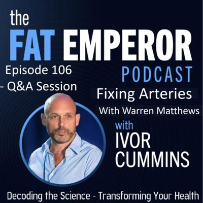 Cover art for Ep106 - Follow up Arterial Health Q & A Session with Warren Matthews