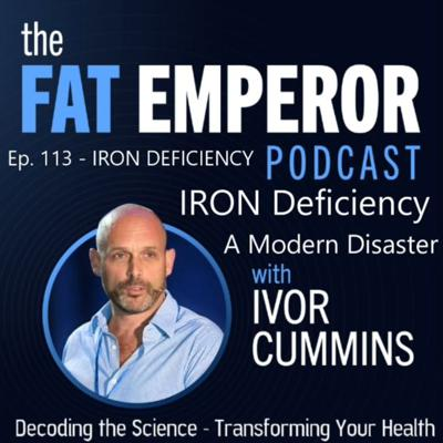 Cover art for Ep113: The IRON Deficiency Elephant in the Room - are YOU Affected??