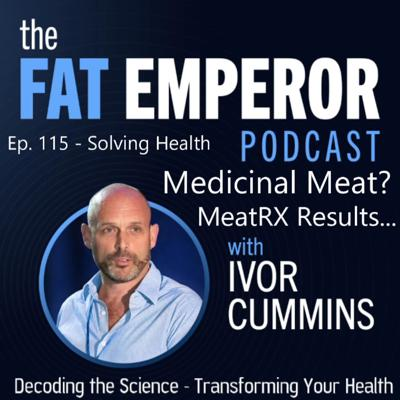Cover art for Ep115: Optimising Health with a Novel MeatRX approach