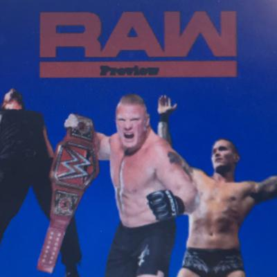 Cover art for Monday Night Raw 1/14/19
