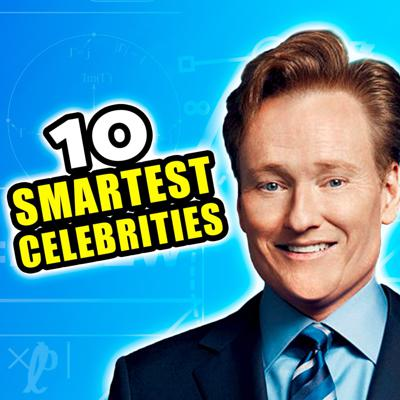 Cover art for Top 10 Smartest Celebrities
