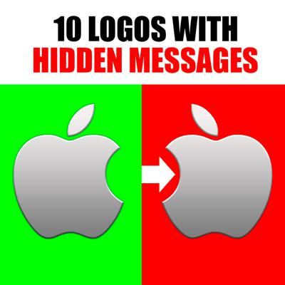 Cover art for 10 Famous Logos with Hidden Meanings