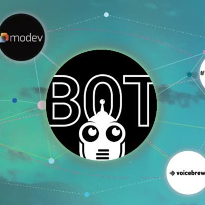 Cover art for $BOT coin for the voice and chatbot communities