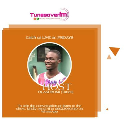 Cover art for TunesovenFM FRIDAY SHOW with OLASUBOMI - 13TH MARCH, 2020