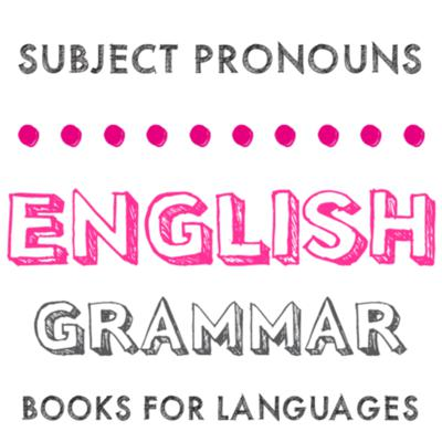 Cover art for Subject Pronouns