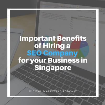 Cover art for Important Benefits of Hiring a SEO Company for your Business in Singapore
