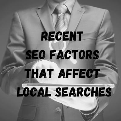 Cover art for Recent SEO Factors that Affect Local Searches